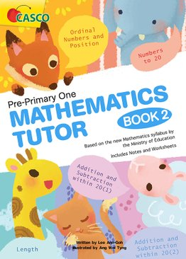 Pre-Primary One Maths Tutor Book 2