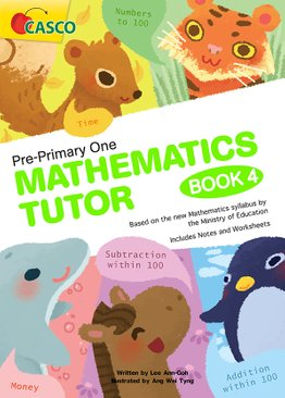 Pre-Primary One Maths Tutor Book 4