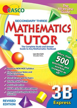 Sec Mathematics Tutor 3B (Revised Ed)