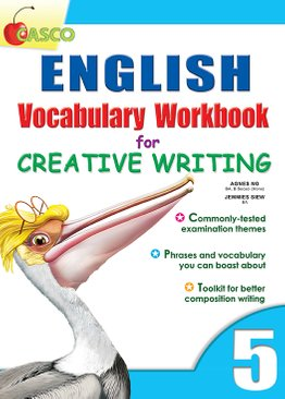 English Vocab Workbook for Creative Writing 5