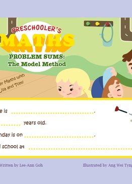 Preschoolers Maths Problem Sums Book 3