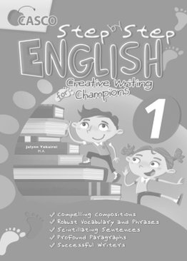 Step by Step English for Creative Writing Champions 1