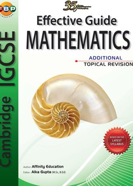 IGCSE Additional Mathematics - Complete Revision