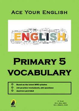 PRIMARY FIVE ACE YOUR ENGLISH VOCABULARY