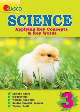Science Applying Key Concepts & Key Words Primary 3