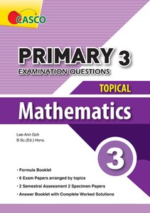 Examination Questions - Topical Mathematics 3