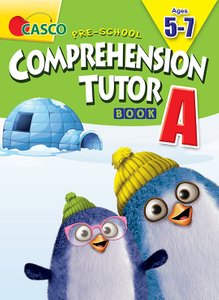Pre-School Comprehension Tutor Book A