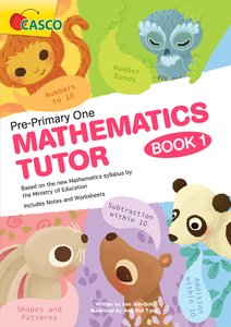 Pre-Primary One Maths Tutor Book 1