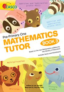 Pre-Primary One Maths Tutor Book 3