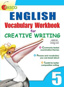 English Vocab Workbook for Creative Writing 5