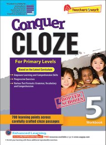 Conquer Cloze Workbook 5