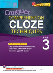 Comprehension Cloze Techniques Book 3