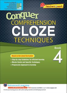 Comprehension Cloze Techniques Book 4