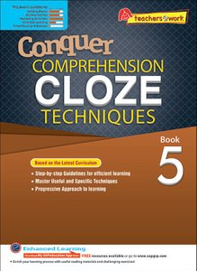 Comprehension Cloze Techniques Book 5