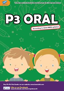 PRIMARY 3 ENGLISH ORAL BOOKLET BY HANA ZHANG (SOFT COPY)