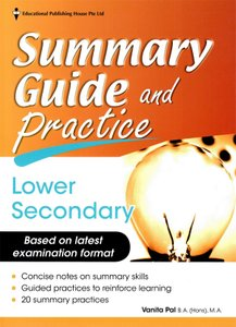 English Summary Guide and Practice Lower Secondary Express