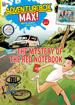 AdventureBox MAX!  - Ages 9-14 ( 10 issues )