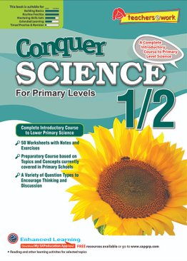 Conquer Science For Primary Levels 1/2