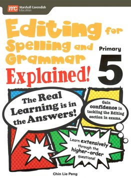 Editing For Spelling And Grammar Explained! P5