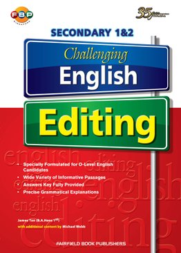Secondary 1&2 Challenging English Editing