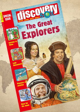 DiscoveryBox Special Edition - The Great Explorers ( Single Issue )