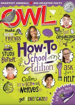 OWL - Ages 9-14  ( 10 issues )