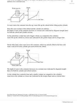 Exam Buddy Elementary Mathematics Sec 3 (2020 Edition) Topic 14: Variation Graphs
