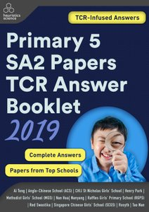 Primary 5 2019 SA2 Papers TCR Answer Booklet (Printed)