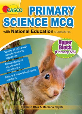 Primary Science MCQ with National Education Questions (Upper Block)