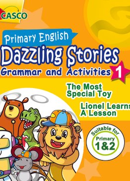 Dazzling Stories Grammar & Activities for P1&2 (Book 1)