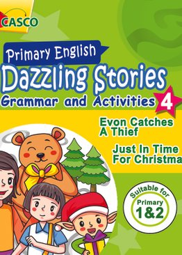 Dazzling Stories Grammar & Activities for P1&2 (Book 4)