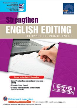 Strengthen English Editing For Upper Secondary Levels