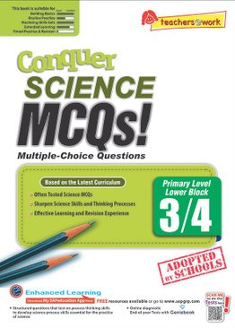Conquer Science MCQs – Primary Level Lower Block 3/4