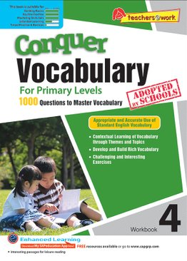 Conquer Vocabulary 4