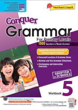 Conquer Grammar Workbook 5