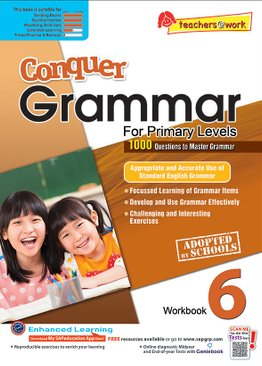 Conquer Grammar For Primary Levels Workbook 6