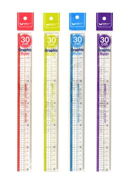 30CM GRAPHIC RULER