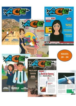 ACE MAGAZINE BUNDLE - 5 ISSUES (20-24)