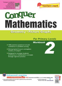 Conquer Mathematics Geometry - Picture Graphs Book 2