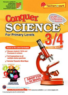 Conquer Science For Primary Levels 3/4