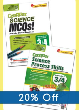 Conquer Science MCQ + Process Skills (Lower Block)