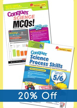 Conquer Science MCQ + Process Skills (Upper Block)