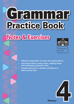 2-in-1 Primary 4  Grammar & Vocabulary and Comprehension book bundle