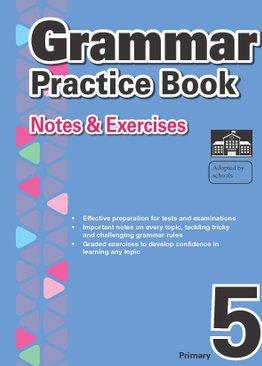 2-in-1 Primary 5  Grammar & Vocabulary and Comprehension book bundle