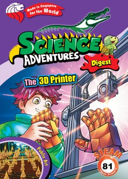 Science Adventures 2021 Subscription - Digest (STEAM)