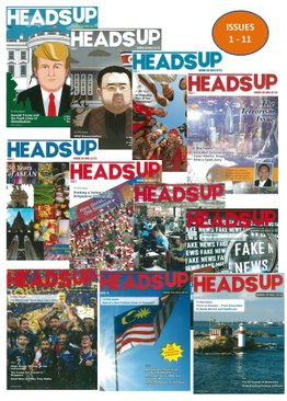 HEADS UP MAGAZINE BUNDLE - 11 ISSUES (1-11)