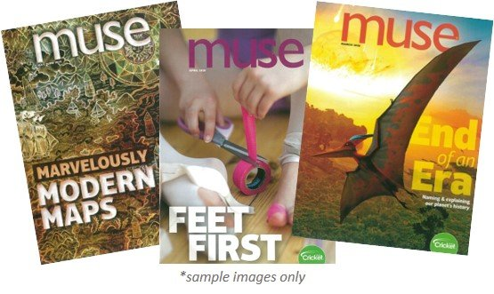 MUSE MAGAZINE PACK - 3 ISSUES