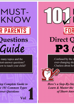 P3. 101 Must-Know Questions Vol 1 + 2 (2-Book Quick Starter Kit for CA1/SA1)