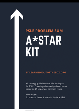 P6. PSLE A Star Kit (Problem Sum Book for P6)