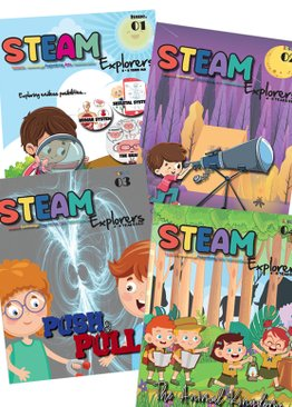 STEAM Magazine: STEAM Explorer Issues 1-6